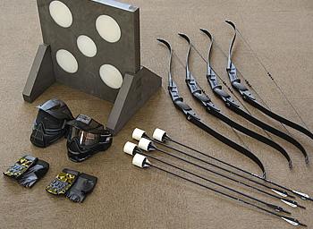 アーチェリーハント 道具の写真